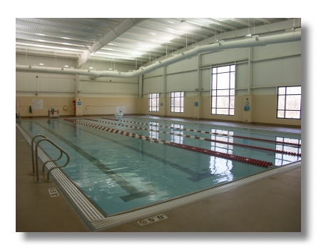 Brown County Indiana YMCA swimming pool
